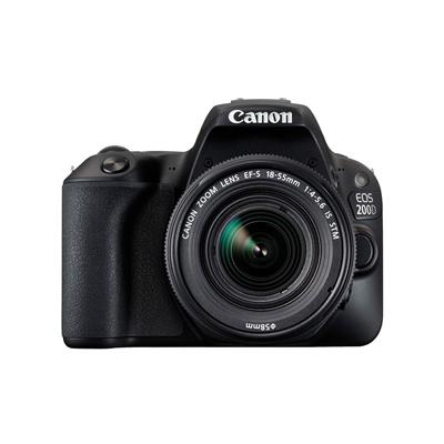 佳能 EOS 200D套机(EF-S 18-55mm f/4-5.6 IS STM) 数码单反照相机